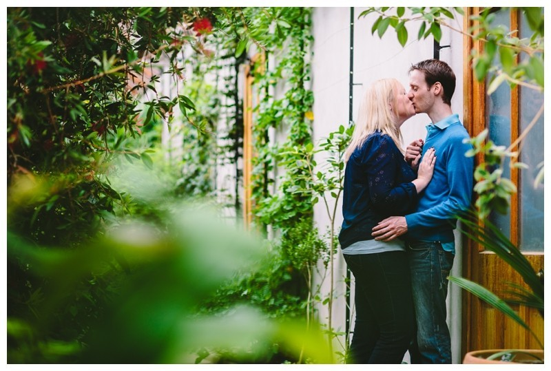 Cambridge Botanical Gardens Engagement Shoot by Norwich Wedding Photographer Jamie Groom