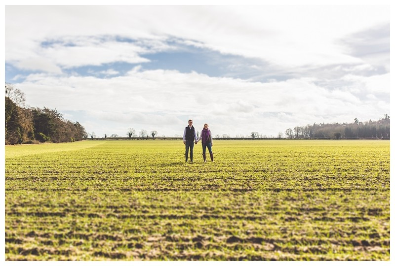 A Norfolk farm engagement